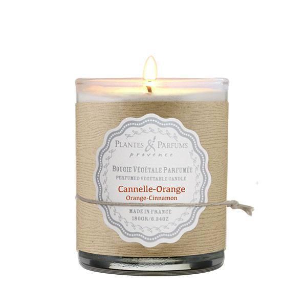 bougie parfum e cannelle orange plantes et parfums de provence. Black Bedroom Furniture Sets. Home Design Ideas