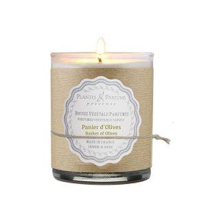 Bougie Parfumée Panier d'Olives