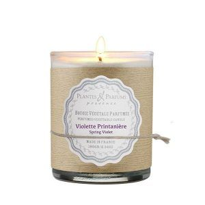 Bougie Parfumée Violette Printanière