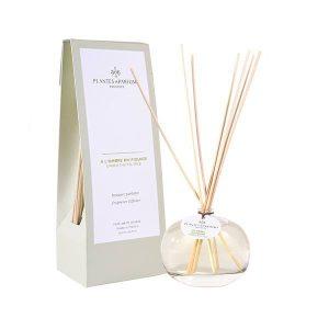 bouquet parfumé, diffuseur de parfum à l'ombre du figuier