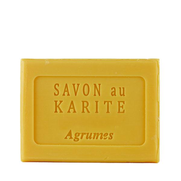 Savon au Beurre de Karité parfum Agrumes