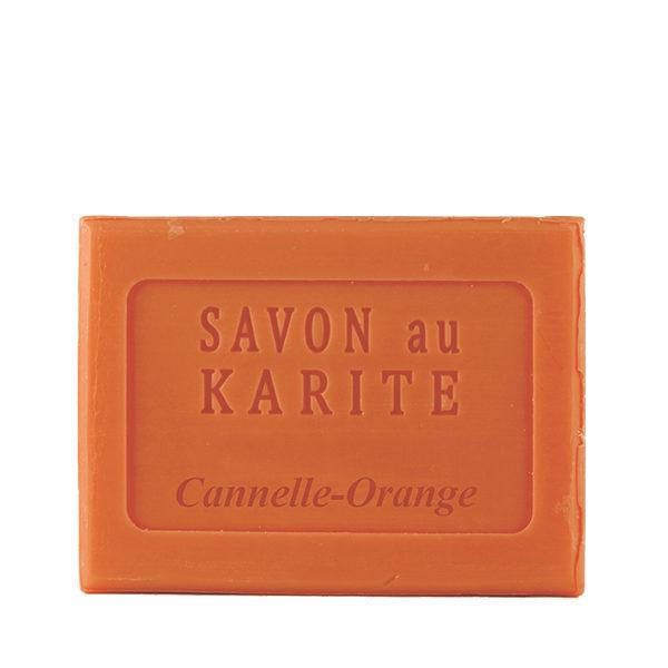 Savon au Beurre de Karité parfum Cannelle-Orange