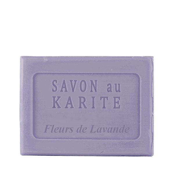 Savon au Beurre de Karité parfum Fleurs de Lavande