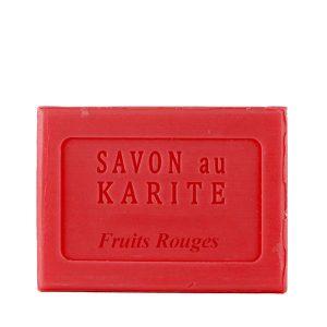 Savon au Beurre de Karité parfum Fruits Rouges