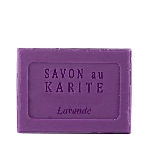 Savon au Beurre de Karité parfum Lavande