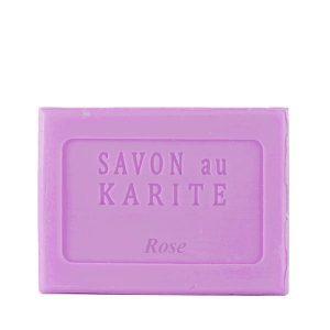 Savon au Beurre de Karité parfum Rose