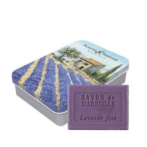 Boîte « Lavande » avec savon Lavande 100g