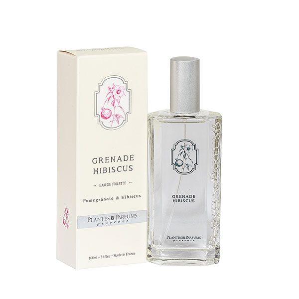 Pomegranate Hibiscus Eau De Toilette Plantes Et Parfums De Provence
