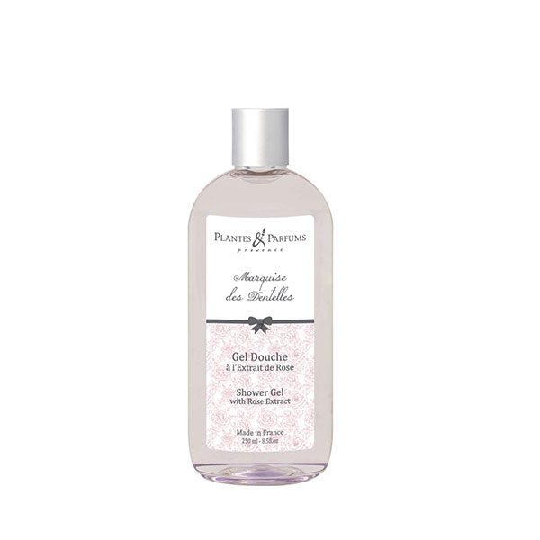 Shower Gel With Rose Extract Marquise Des Dentelles Plantes Et
