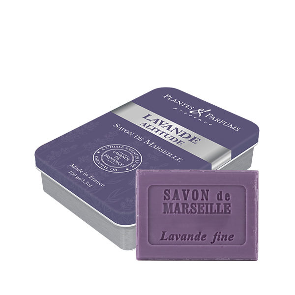 Boîte « Lavande Altitude » avec son savon Lavande