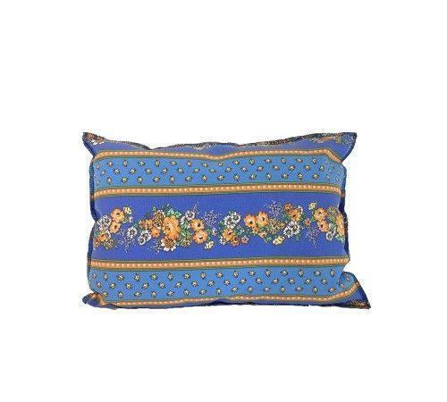 coussin provençal Coussin à la lavande Jaune et Bleu   Plantes et Parfums de Provence coussin provençal