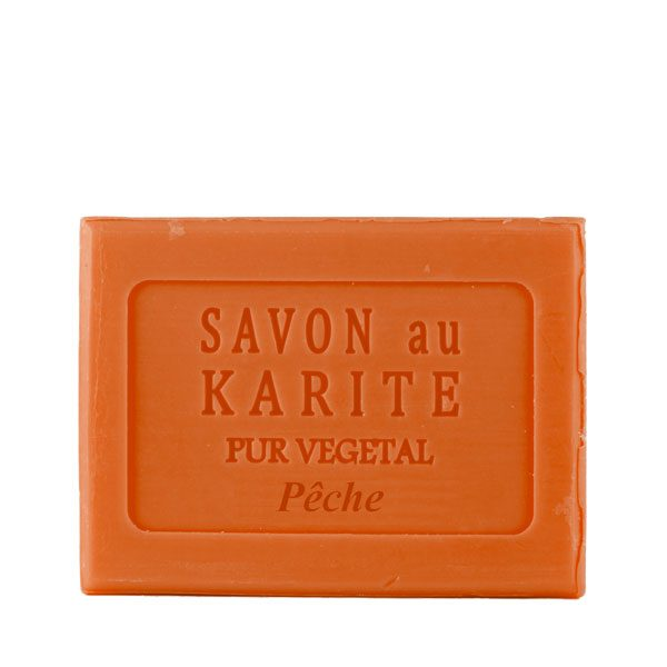 Savon au Beurre de Karité parfum Pêche