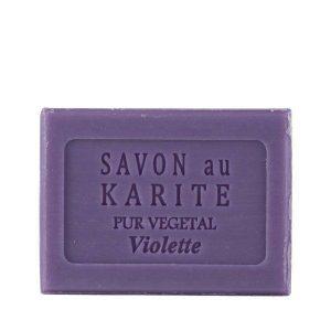 Savon au Beurre de Karité parfum Violette
