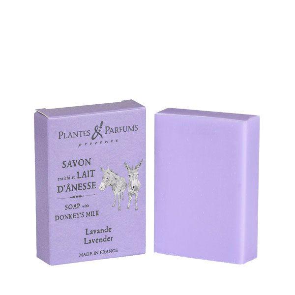 Savon enrichi au Lait d'Anesse parfum Lavande