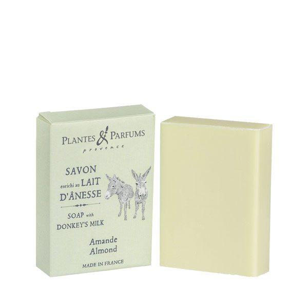 Savon enrichi au Lait d'Anesse parfum Amande