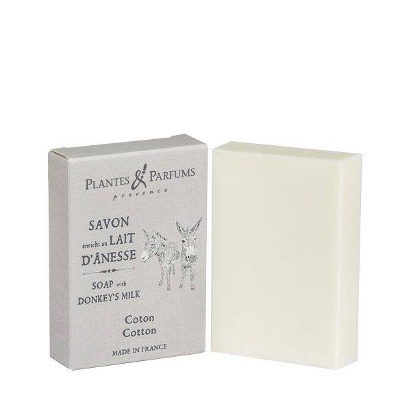 Soap with Donkey's Milk - Cotton
