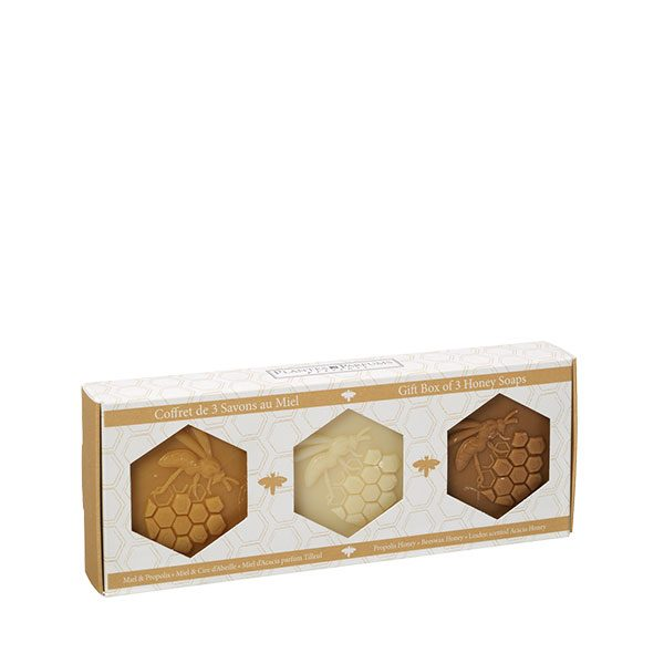 Gift box of 3 Soaps