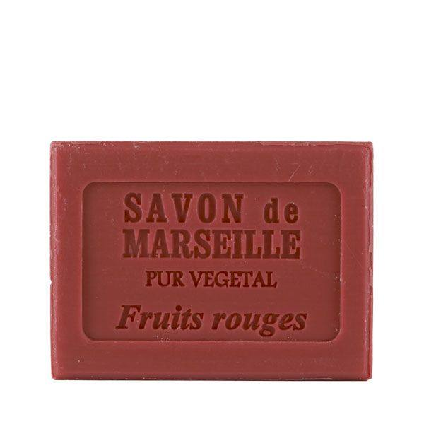 savon de marseille fruit rouge
