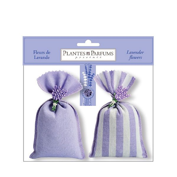 Set of 2 lavender sachets with plasters