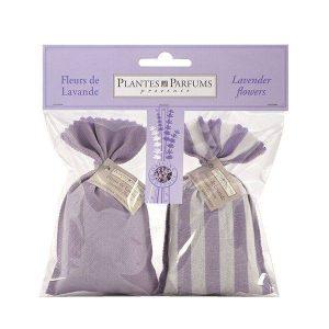 Set of 2 lavender colour sachets
