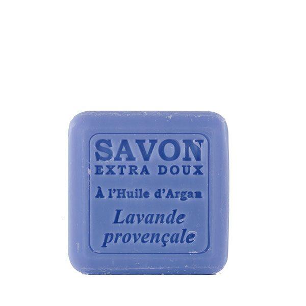 Savon à l'huile d'Argan parfum Lavande