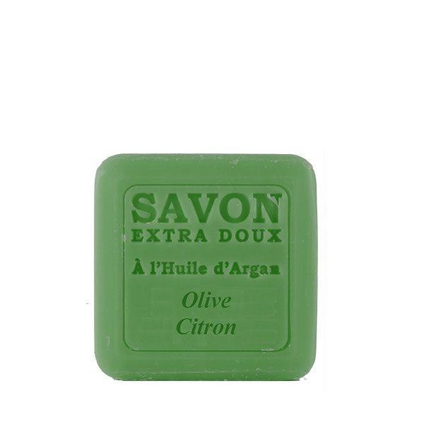 Savon à l'huile d'Argan parfum Olive & Citron