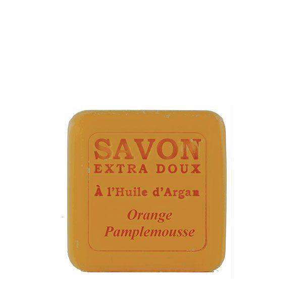 Savon à l'huile d'Argan parfum Orange & Pamplemousse