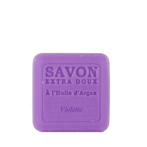 Savon à l'huile d'Argan parfum Violette