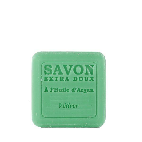 Savon à l'huile d'Argan parfum au Vétiver