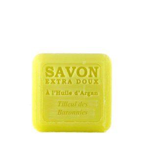 Savon à l'huile d'Argan parfum Tilleul des Baronnies