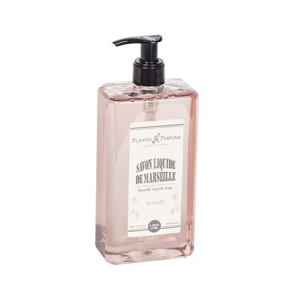 Savon Liquide Parfum Rose 500ml