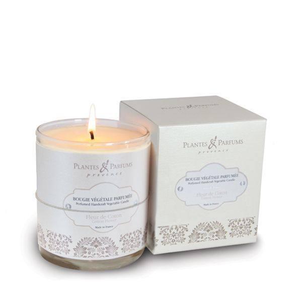 Bougie Parfumee Fleur De Coton Plantes Et Parfums De Provence