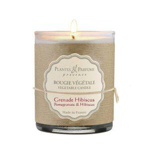 bougie parfumée grenade hibiscus