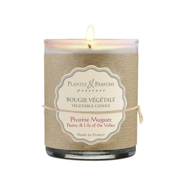 bougie parfum e pivoine muguet plantes et parfums de. Black Bedroom Furniture Sets. Home Design Ideas