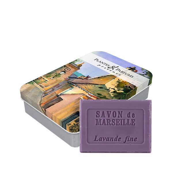 Boîte « Village Provençal » avec savon Lavande 100g