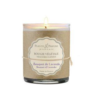 bougie parfumée bouquet de lavande