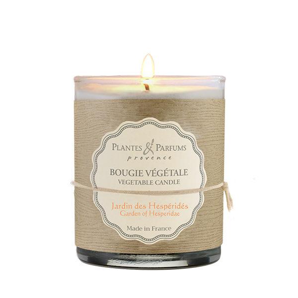 bougie parfumée jardin des hespéridés