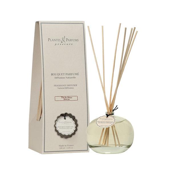 bouquet parfumé - diffuseur de parfums thé de shiso