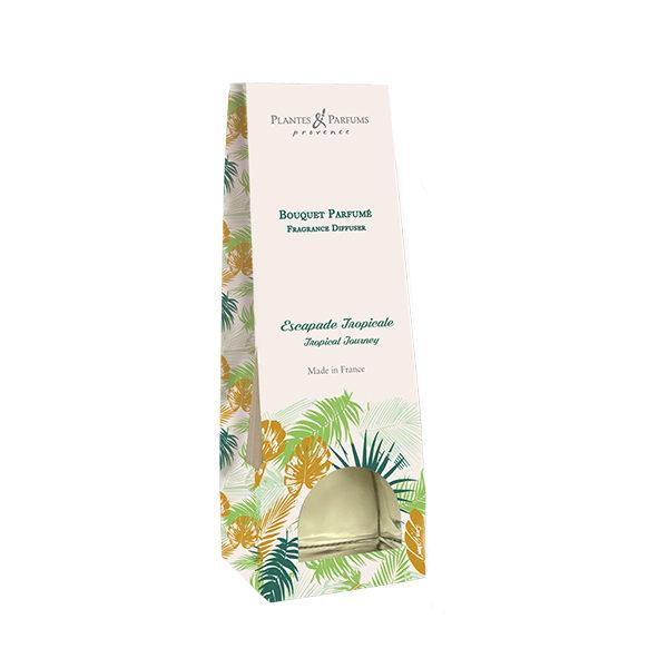 bouquet parfumé diffuseur de parfums escapade tropicale