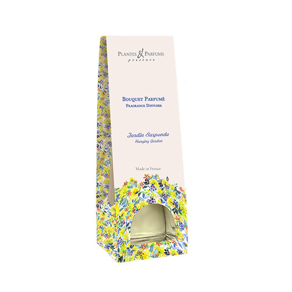 bouquet parfumé diffuseur de parfums jardin suspendu