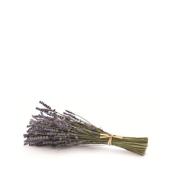 Lavender bouquet with raphia