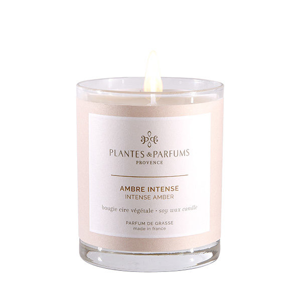 Perfumed Candle - Intense Amber