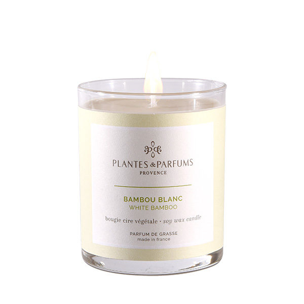 Perfumed Candle - White Bamboo