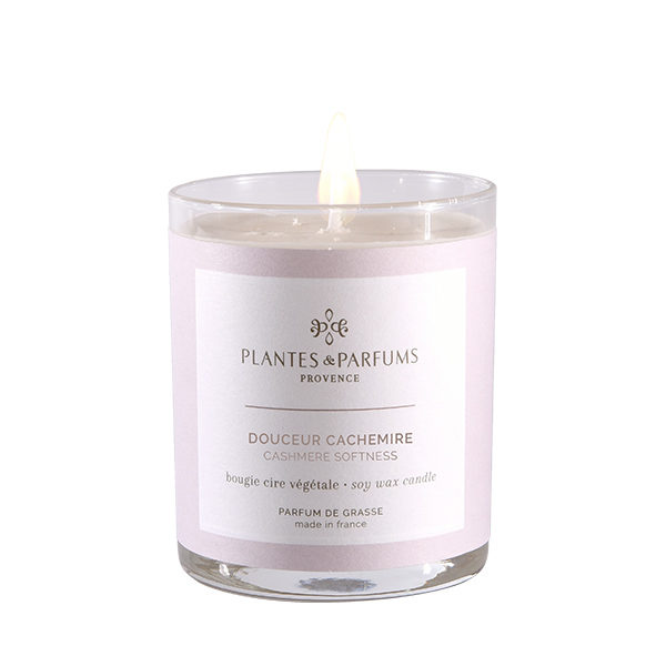 Perfumed Candle - Cashmere Softness
