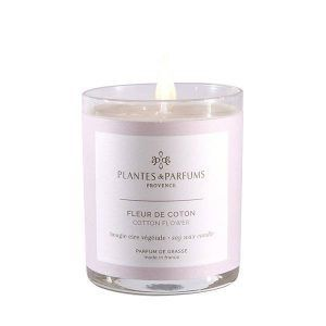 Perfumed Candle - Cotton Flower