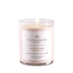 Perfumed Candle - Fresh Peach