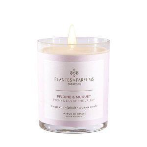 Perfumed Candle - Peony & Lily of the Valley