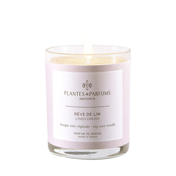 Perfumed Candle - Linen Dream