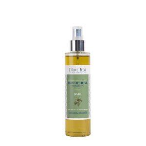huile d'olive vierge extra aromatisée basilic en spray 20cl, huile d'olive catégorie supérieure extraite à froid, idée recette huile d'olive basilic