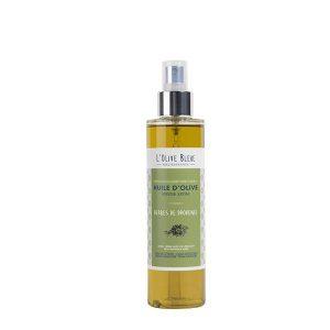 huile d'olive vierge extra aromatisée herbes de provence en spray 20cl, huile d'olive catégorie supérieure extraite à froid, idée recette huile d'olive basilic